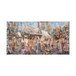 old tapestry gallery wrapped canvas