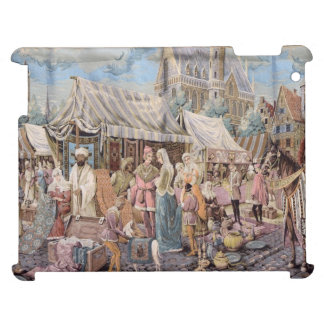 old tapestry iPad case