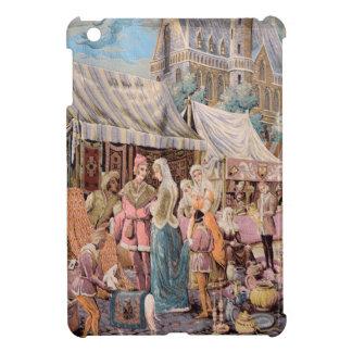 old tapestry iPad mini case