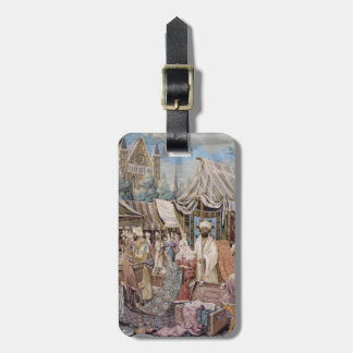 old tapestry tags for bags