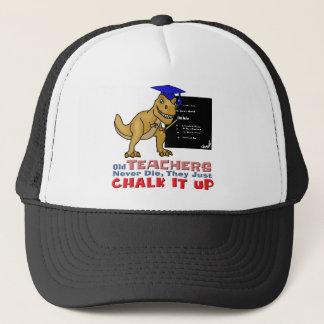 Old Teachers Epitaph Trucker Hat