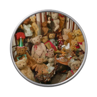 Old Teddy Bears Collection Candy Tins