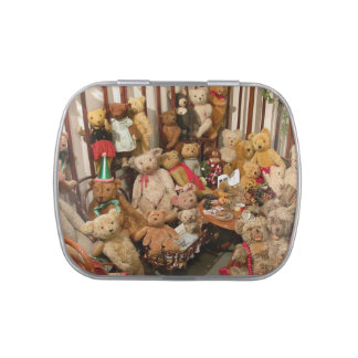 Old Teddy Bears Collection Jelly Belly Candy Tins