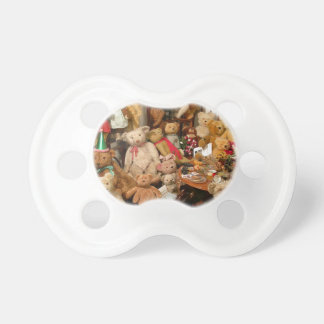 Old Teddy Bears Collection Pacifier