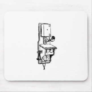 Old Telephone Mousepad