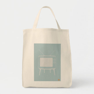 Old Television Tote Bags
