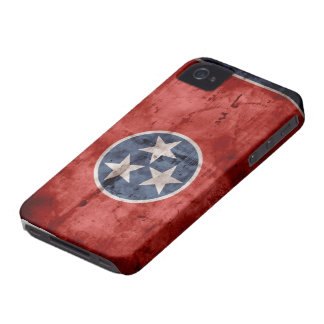 Old Tennessee Flag; iPhone 4 Case-Mate Cases