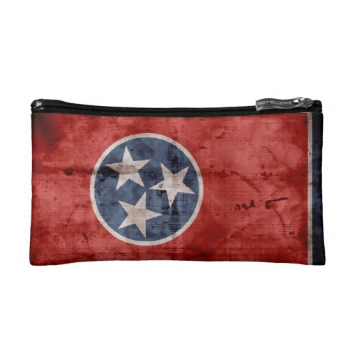 Old Tennessee Flag; Makeup Bags