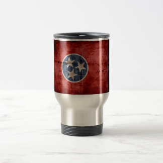 Old Tennessee Flag; Travel Mug