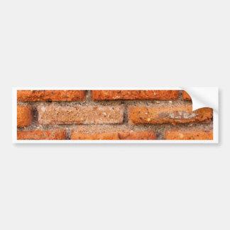 Old Terracotta Brick Bumper Sticker