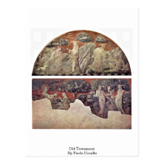 Old Testament By Paolo Uccello Postcard