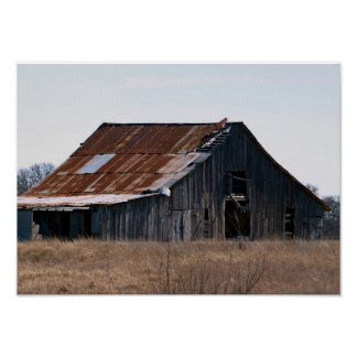 Old Texas Barn 37 Posters