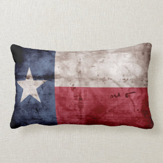Old Texas Flag Pillow