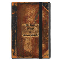 Old Text Book iPad Mini Cover