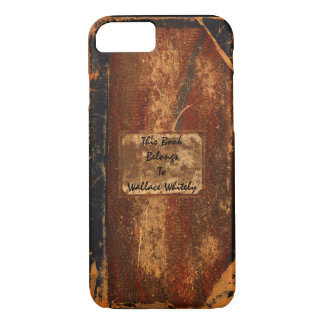 Old Text Book iPhone 7 Case