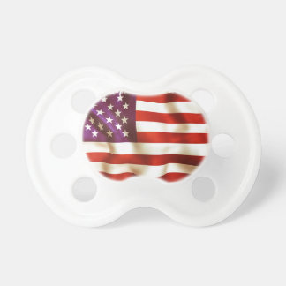 Old the USA flag Pacifier