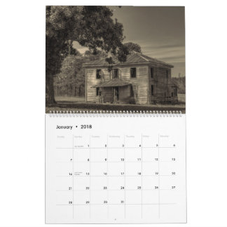 Old Things, Abandonment, and Decay: Volume 2 Calendar