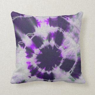 Old Tie Dye Throw Pillow