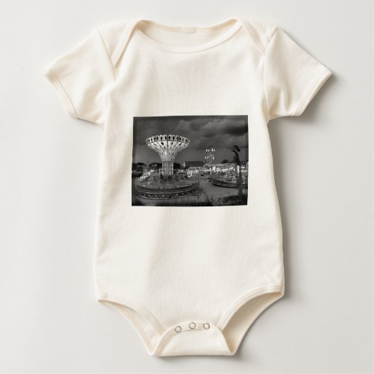 old time 6 baby bodysuit