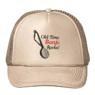 Old Time Banjo Truckers Hat