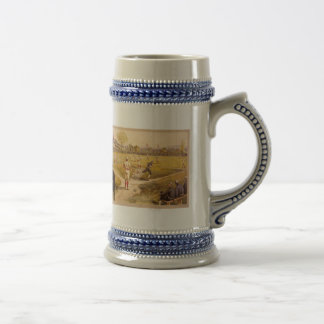 Old Time Base Ball Beer Stein