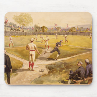 Old Time Base Ball Mouse Pad