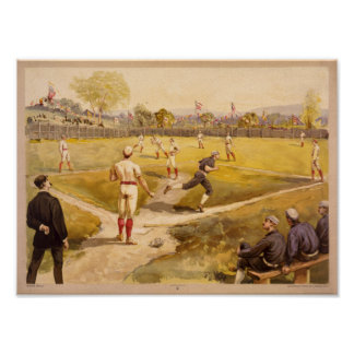 Old Time Base Ball Posters