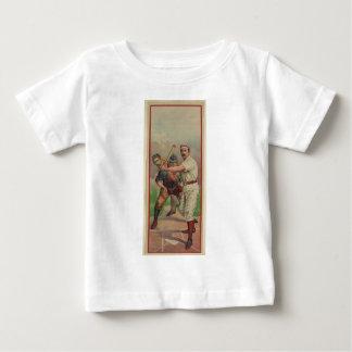 Old Time Baseball Card circa 1895 Baby T-Shirt