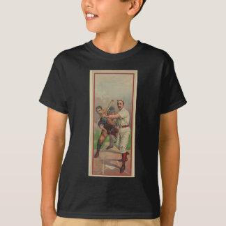 Old Time Baseball Card circa 1895 T-Shirt