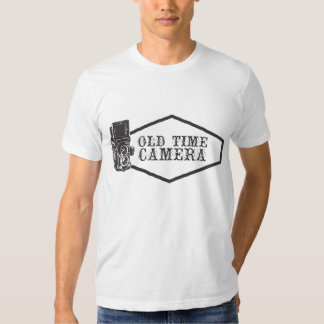 old time camera t shirt