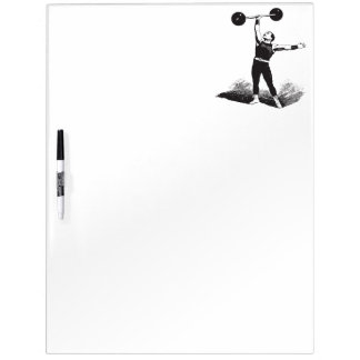 Old Time Circus Strongman Dry-Erase Board