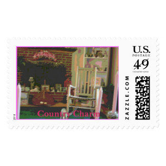 Old Time Country Charm Postage Stamps