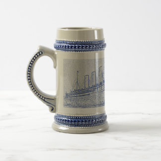 Old-Time Cruise Beer Stein