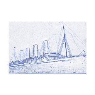Old-Time Cruise Canvas Print
