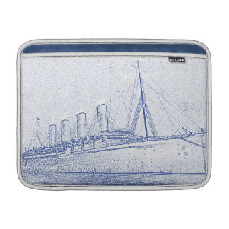 Old-Time Cruise double-sided MacBook Sleeve