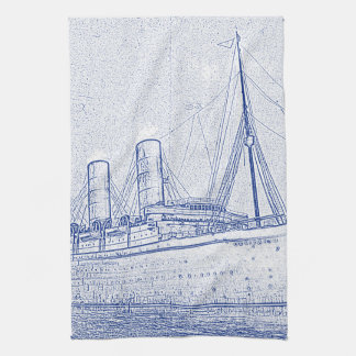 Old-Time Cruise Hand Towel