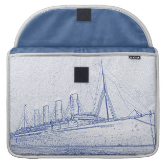 Old-Time Cruise MacBook Pro Sleeve