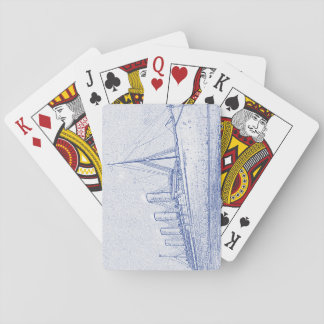 Old-Time Cruise Playing Cards