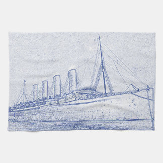 Old-Time Cruise Towels