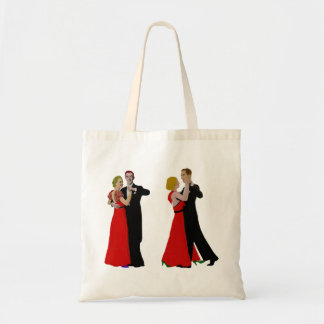 Old time dancing. tote bag