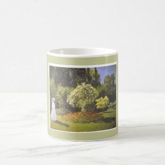 Old Time Garden Scene Coffee Mug