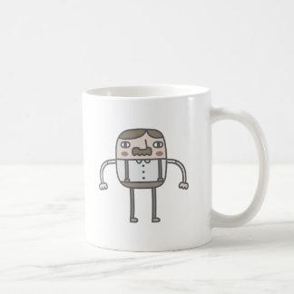 Old Time Gentleman Classic White Coffee Mug