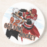 Old Time Hockey Beverage Coaster