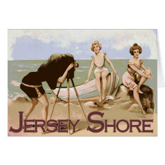 Old Time Jersey Shore Card