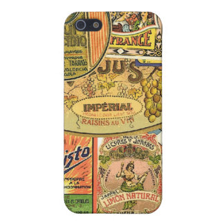 old time labels iPhone 5/5S covers