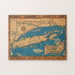 "Old Time Long Island Map Puzzle<br><div class=""desc"">Old Time Long Island Map Puzzle</div>"