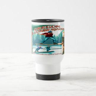 """""""Old Time Lumberjack"""" Travel Mug"""