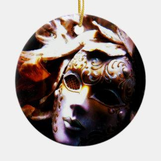 Old Time Masquerade Ceramic Ornament