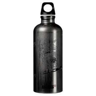 OLD time Music Aluminum Water Bottle