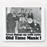 Old Time Music Mousepad